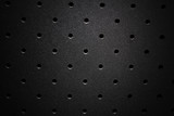Steel perforated texture