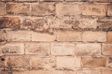 Brick Wall Textured Background
