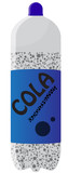 Blue Cola Bottle