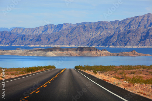 Poster Scenic drive to Lake Mead
