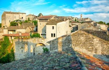 Balazuc en Ardèche, plus beau village de France