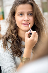 Teen girl make up