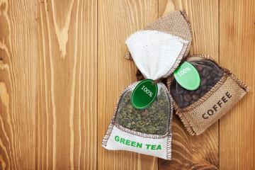 Coffee and tea small bags