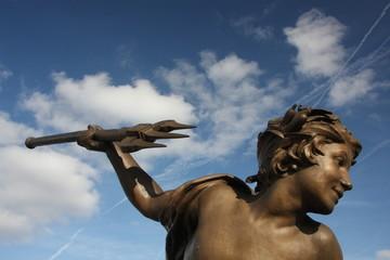 Statue du pont Alexandre III à Paris