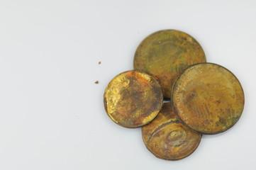 Alte DM Münzen