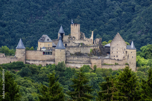 Bourscheid Castle in Luxembourg