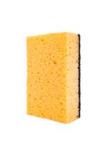 Brand new sponge isolated on white background