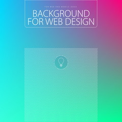 Elegant background for web design, vector illustration, UI flat