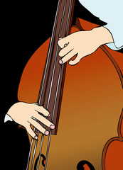The Player of  Contrabass