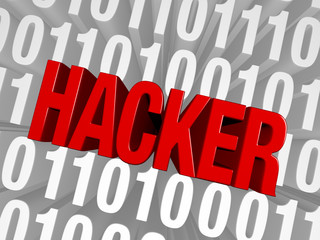 Hacker Springs From The Computer Code