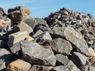 Granit - Steine - Gesteinsbrocken