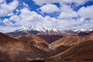 Himalaya mountain landscape in Ladakh, North India