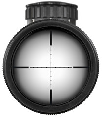 Riflescope with clipping paths