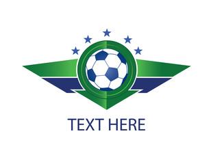 Soccer green shield