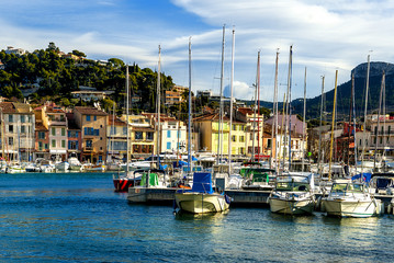 Cassis city in France