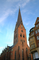 Church St. Petri in Hamburg, Germany