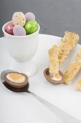 Chocolate Easter Egg Breakfast
