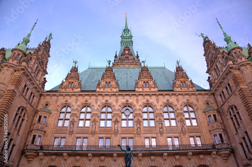 City Hall of Hamburg, Germany