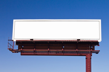 Blank Billboard Sign For Your Message