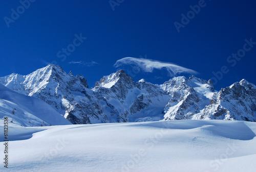 Papiers peints Alpes La Meije et les Ecrins, Alpes, France