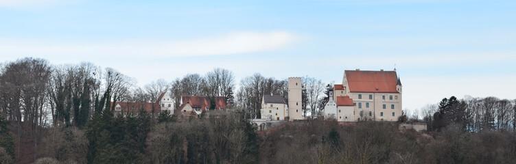 Die Mindelburg in Mindelheim