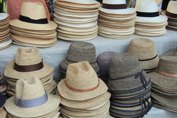 Panama hats