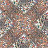 Vintage Hipster Seamless Geometric Pattern Background
