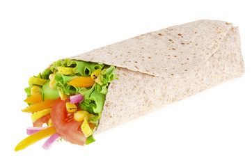 Vegetables wrap