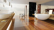 Leinwanddruck Bild - 3D Badezimmer