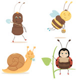 Cute Bugs collection