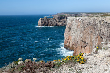 Rocky Coast of Portugal near Sagres