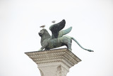 Winged St Mark Lion in Venice