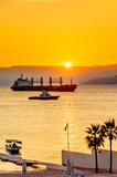 Sunset in Aqaba, Jordan.
