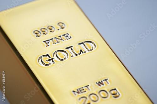 Gold ingots Poster