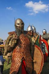 Rekawka, annual international medieval spring festival, Krakow,
