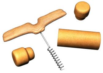 Cork opener