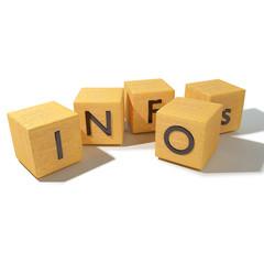 Würfel und Infos