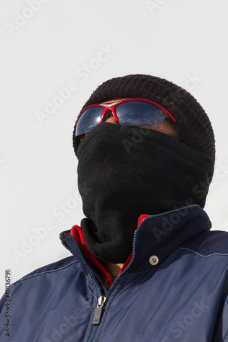 Scout with Goggles and Balaclavas