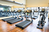 Fototapety Treadmills