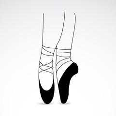Ballet VECTOR icon.
