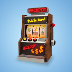 3D Icon Slot Machine