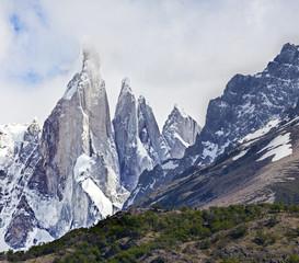 Cerro Torre in Los Glaciares National Park, Patagonia, Argentina