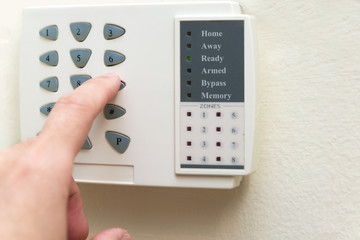 Home alarm system
