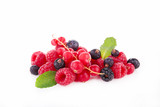 assortment of berries fruits