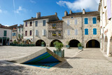 Lauzerte France market square