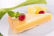 slice lemon cake
