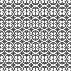 Seamless white and gray geometric pattern.