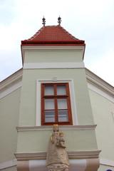 Erker am Bürgerhaus Jobhaus in Eisenstadt