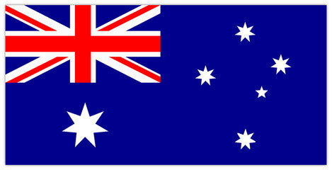 Flagge Australiens, Flag Australia, Symbol