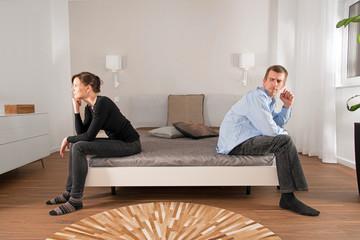Ehekrach im Schlafzimmer